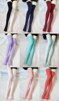Sweetie Candy Color Stockings Multicolors For BJD Girl 1/6,1/4,1/3,SD16,DD Doll Clothes