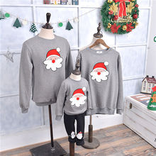 Family Matching Clothes 2016 Christmas Sweater Dress For Father Mother Son Daughter Baby Mon Dad Outfits Family Look(China (Mainland))