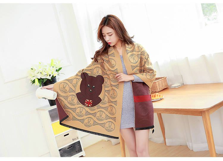 2016 new winter female imitation cashmere shawl air – conditioning warm autumn and winter fashion scarves