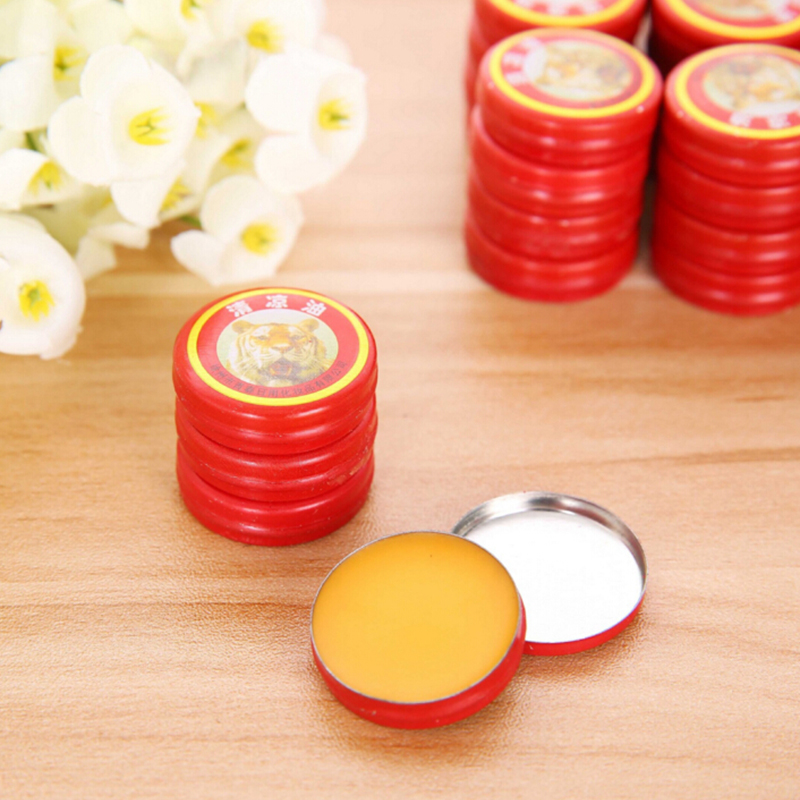 20 pieces/pack Red Tiger Balm Essential Oil Refresh Oneself Treatment Of Influenza Cold Headache Dizziness Summer Mosquito A2(China (Mainland))