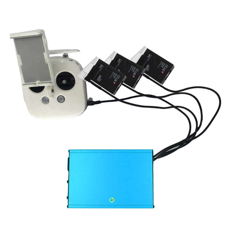 DJI Inspire1 4 in 1 Power Adapter Battery Charger For Intelligent Battery TB47 TB48 Inspire 1 with Transmitter Free Shipping(China (Mainland))