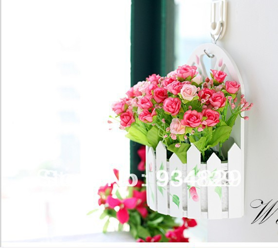 Korean Fences Silk Flower Eco Friendly Flowers At Home ...