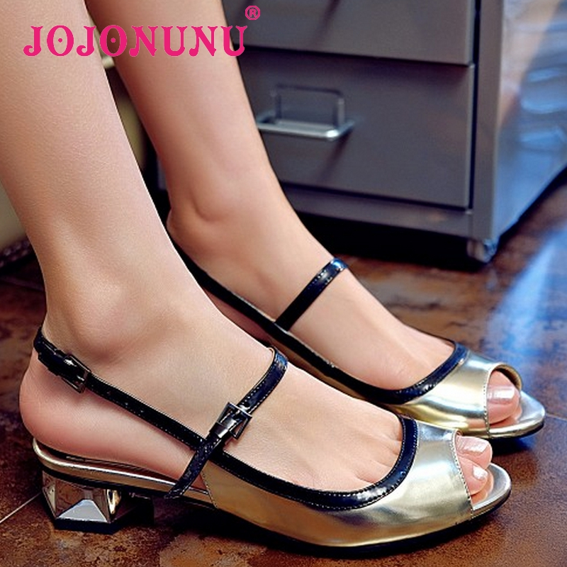 women real genuine leather stiletto peep toe slingbacks high heel sandals brand sexy fashion lady heeled shoes size 34-39 R6833<br><br>Aliexpress