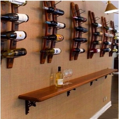 d coratif en bois du vin de fa on cr ative mur pendaison mural casier vin bar vin vin ikea. Black Bedroom Furniture Sets. Home Design Ideas