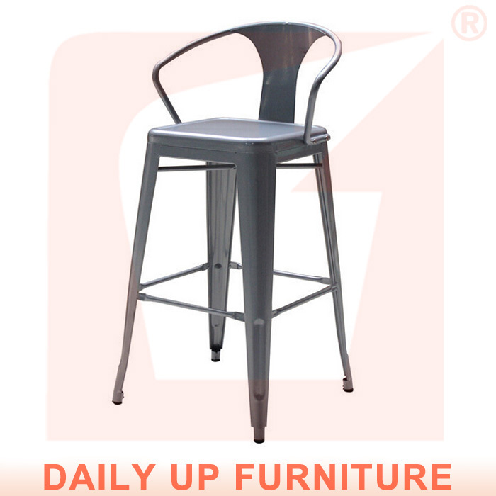 Iron Coffee Shop Chairs 75cm Bar Stools China with