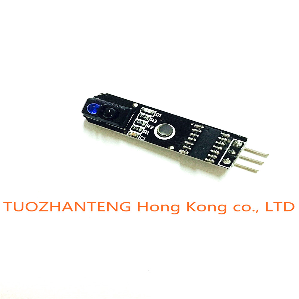 5pcs 1 channel tracing module/ 1 way Intelligent Vehicle TCRT5000 tracker sensor probe infrared for arduino