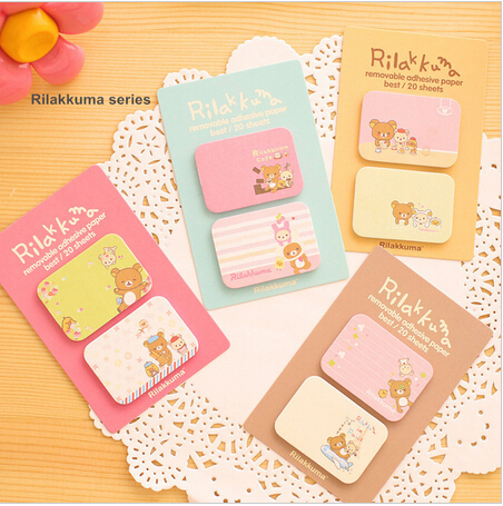 Sticky notes Rilakkuma Vintage Dialog Self sticker Message memo scrapbooking Post it stationery School supplies<br><br>Aliexpress