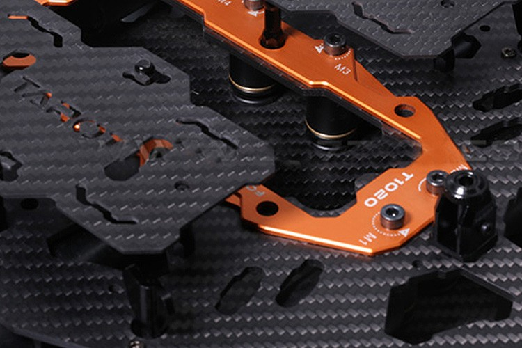 RC drone helicopter tarot T15 T18 Foldable carbon fiber octocopter frame kit diy multicopter drones grandes profissionais frame