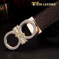 New Arrive/New Fashion Real Leather Belt Mens Genuine Leather Belt  Man Luxury Belts Strap Alloy Pin Buckle No 106 Free Shipping