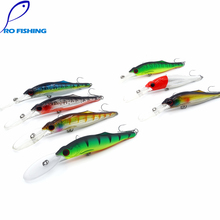 pesca Free shipping fishing lures fishing bait minnow 30g/120mm vib pencil bass lure fishing tackle deep diving baits might bite