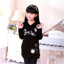 Brand Spring Autumn Girl Hoodies Sweatshirts Cartoon Kids Clothes Blouse Infantis Minnie Children Clothing Rodini Ladies Tops(China (Mainland))