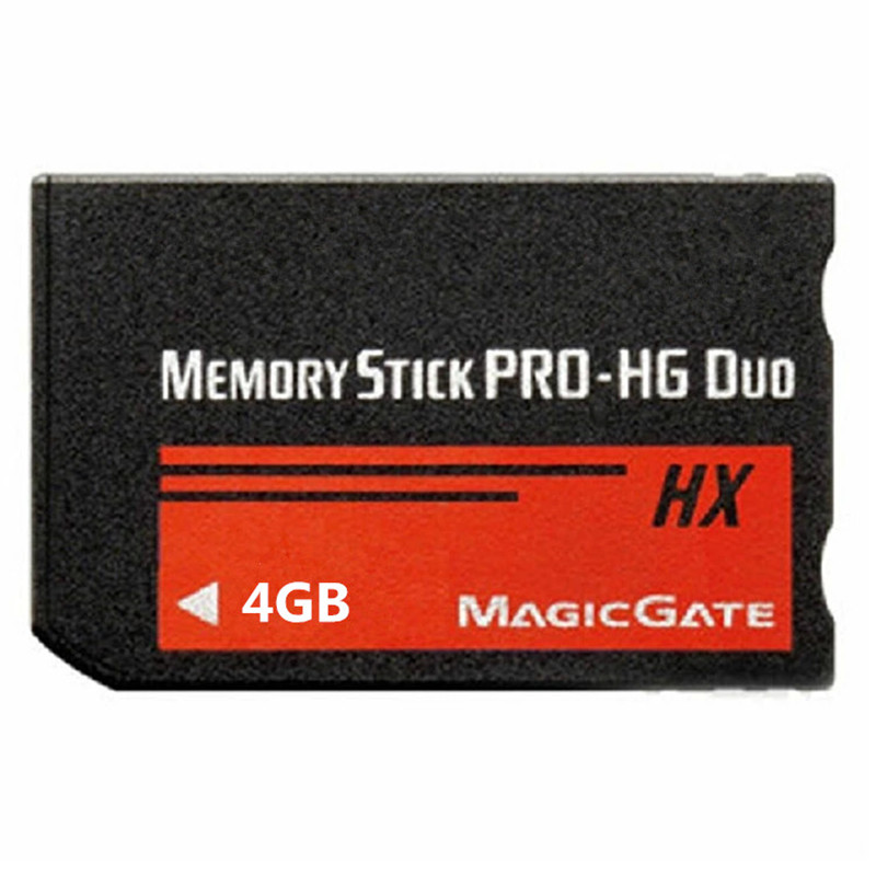 4GB High Speed MS Memory Stick Pro Duo Card Storage for Sony PSP 1000/2000/3000 Game Console(China (Mainland))