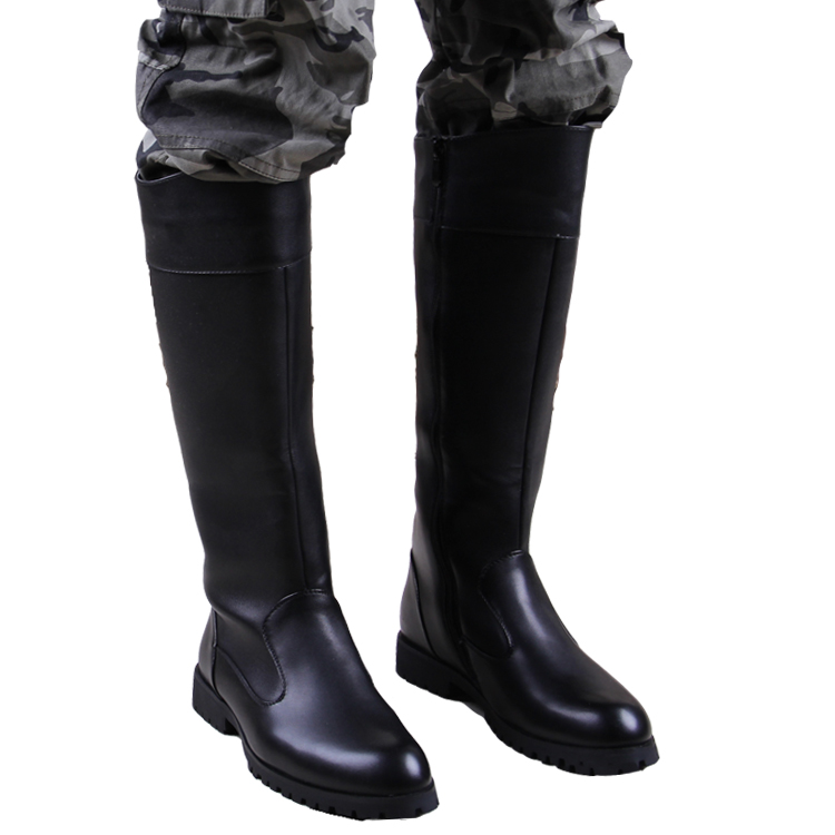 mens knee high leather boots 28 images pleaser