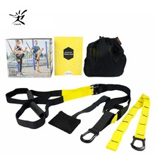 Buy Resistance Bands Crossfit Sport Equipment Strength Training Belt Fitness Equipment Spring Exerciser Workout Suspension Trainer for $13.58 in AliExpress store