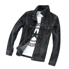 2017 del Dril de algodón Camisas de Los Hombres Camisa Casual Camisa de Manga Larga Nuevo Diseño Delgado Jeans Masculina Moda Masculina Camisas de Mezclilla Tamaño XS-XL(China (Mainland))