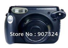 Free Shipping Fuji Fujifilm Instax 210 Wide Film Camera Instant Polaroid Photo Picture – Black by EMS