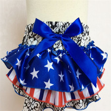 Free shipping Baby shorts Ruffle shorts Bowknot Multicolor optional Children's shorts Girls shorts culottes Baby PP pants(China (Mainland))