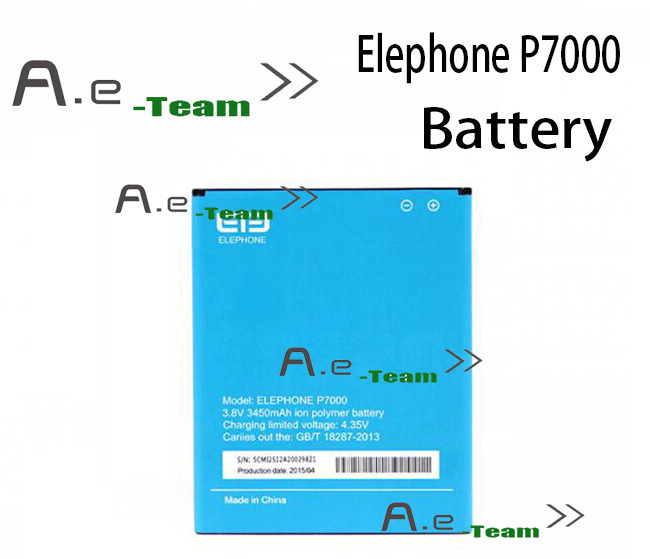 Elephone P7000 battery 100 Original 3450Mah Li Polymer Battery Replacement For Elephone P7000 Cell Phone Free