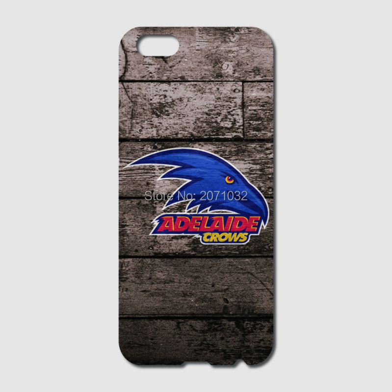 Adelaide Crows Case For iPhone 6 6S Plus 5 5S 5C 4S iPod Touch 5 4 For Samsung Galaxy S2 S3 S4 S5 Mini S6 S7 Edge Note 3 4 5(China (Mainland))
