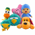 Animation POCOYO Cartoon Plush Toys 28CM POCOYO Elly Pato pocoyo plush toys girls gift plush dolls