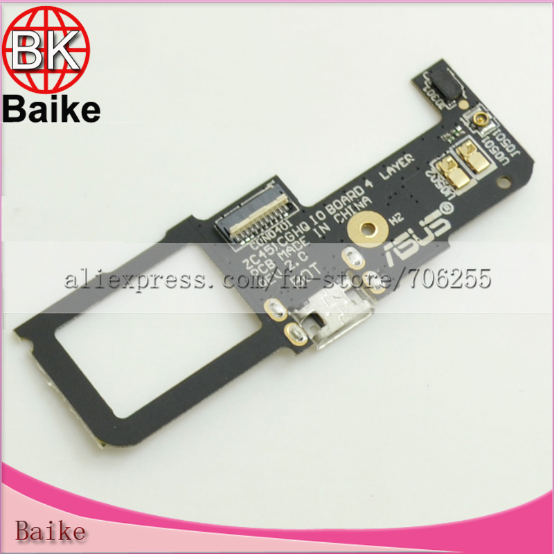 Original Dock Connector Charger Charging Port Flex Cable with Mic for ASUS ZenFone C 100% High Quaity(China (Mainland))
