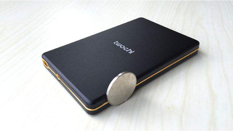 ถูก จัดส่งฟรีTWOCHI T1เดิม2.5 ''ฮาร์ดไดรฟ์ภายนอก500กิกะไบต์แบบพกพาHDDดิสก์จัดเก็บข้อมูลPlug and Play