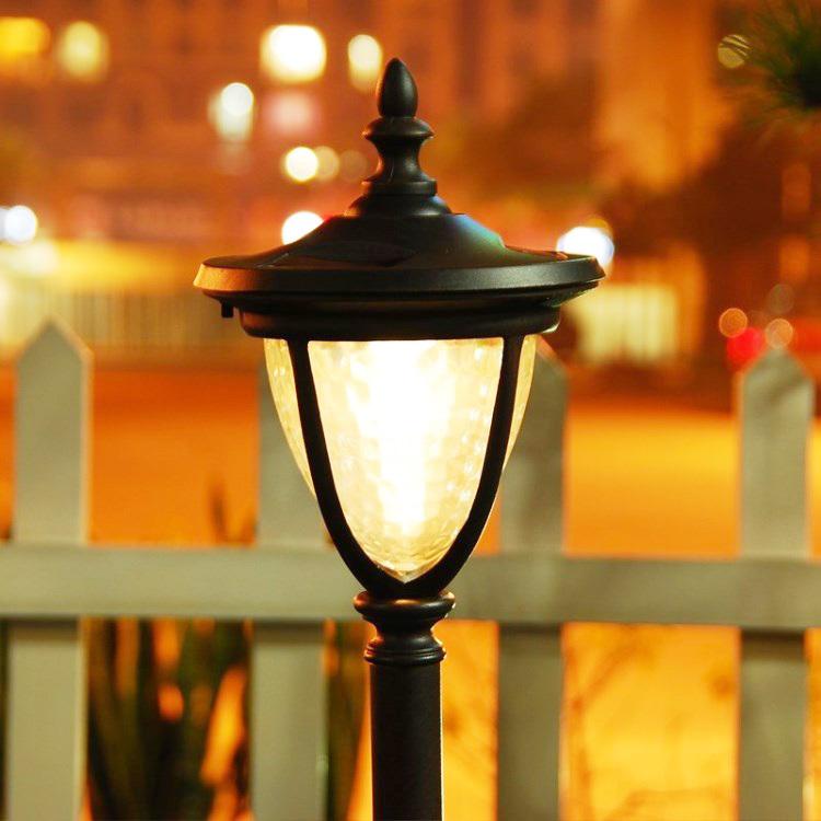 Free ship led solar power outdoor garden lights 12V landscape lawn lamps waterproof paths street lighting warm <br><br>Aliexpress
