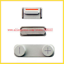 Side key button set power,mute,volume button for iphone 5, 3pcs/set,2set/lot,Free shipping good quality best price(China (Mainland))