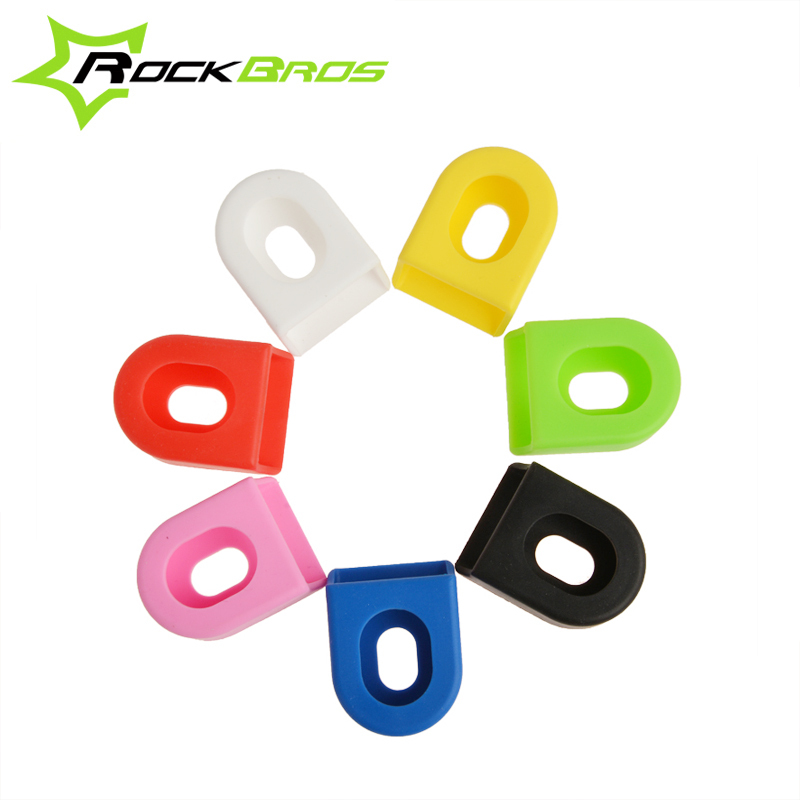 RockBros Cycling Bicycle Crank Protector Cover MTB Mountian Road Bike Fixed Gear Crankset Crank Protective Gear Bicycle Parts(China (Mainland))