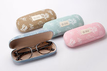 Retro Handmade Print Linen Glasses Case Hard-Shell Eco-Friendly Durable And Aesthetic A Soldier To Your Eyeglasses(China (Mainland))