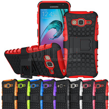 Buy Tough Armor Hybrid Kickstand Case Shockproof Hard Cover Samsung Galaxy J3 2016 J320 J320F J320P J3109 J320M J320Y/Sol for $1.69 in AliExpress store