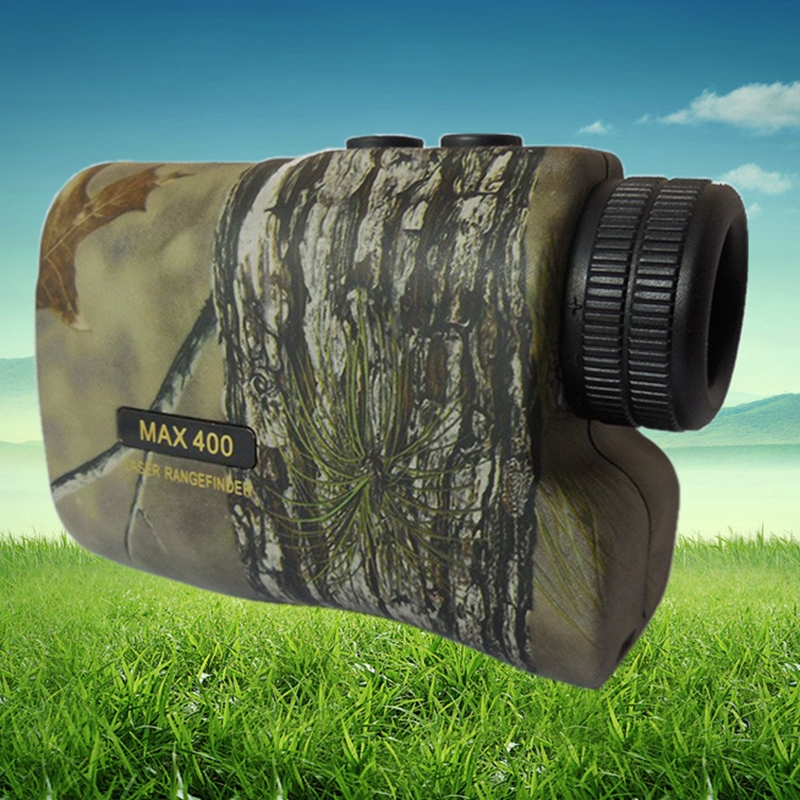 6X400m Hunting Camouflage Laser Range Finder Distance Measure and Speed Measuring Telescope Not including Battery for Safety(China (Mainland))