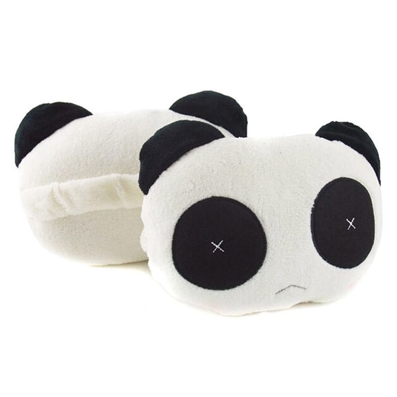 Cute Car Headrest Pillow : NEW 1 pair of cute car Panda headrest Car Seat Cushion Pillow comfortable unique free shipping ...