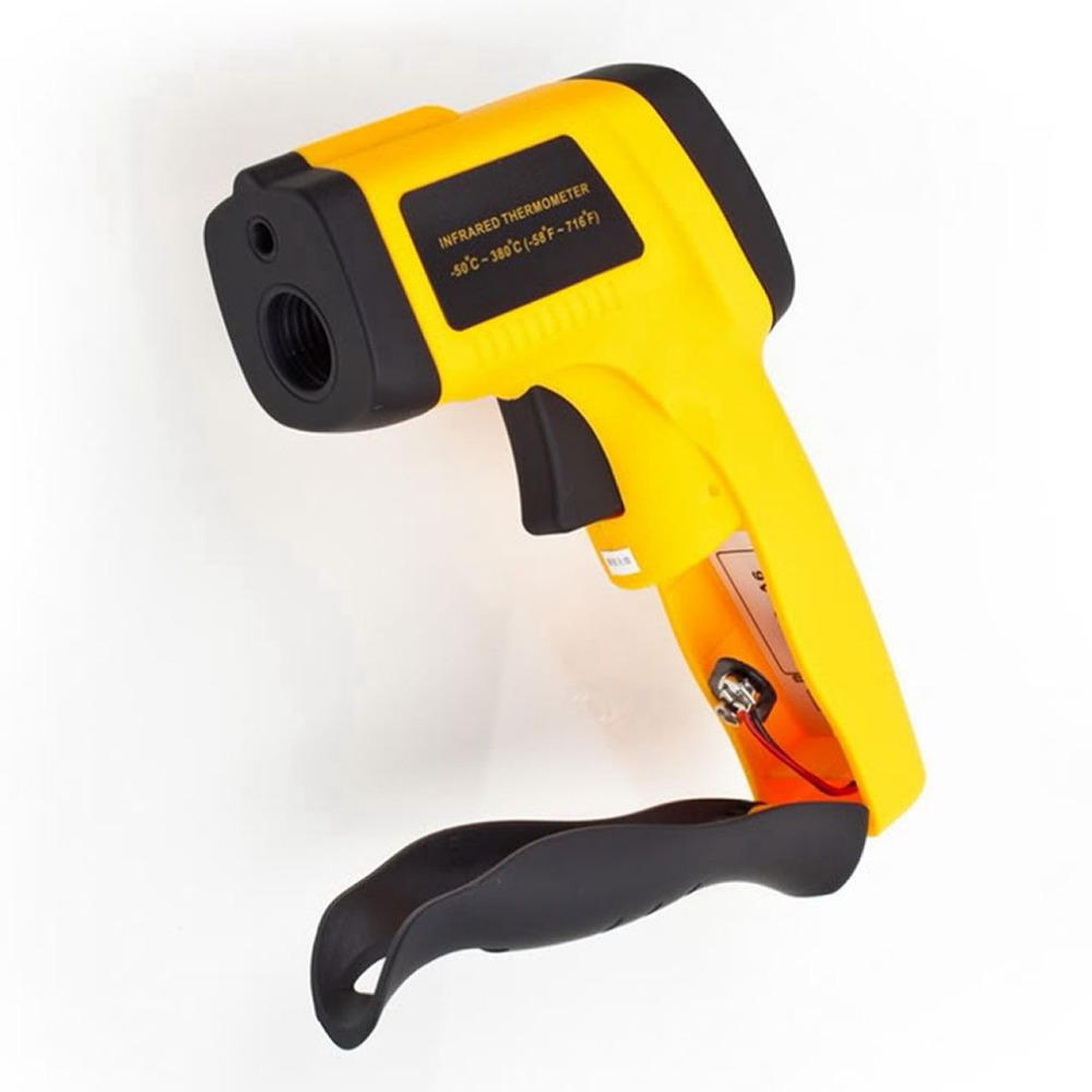 Non-Contact Laser Point IR Infrared Thermometer Temperature Gun -50C~380C GT Fedex DHL free fast shipment(China (Mainland))