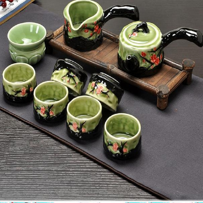 Popular stump tea pot buy cheap stump tea pot lots from Green tea pot set