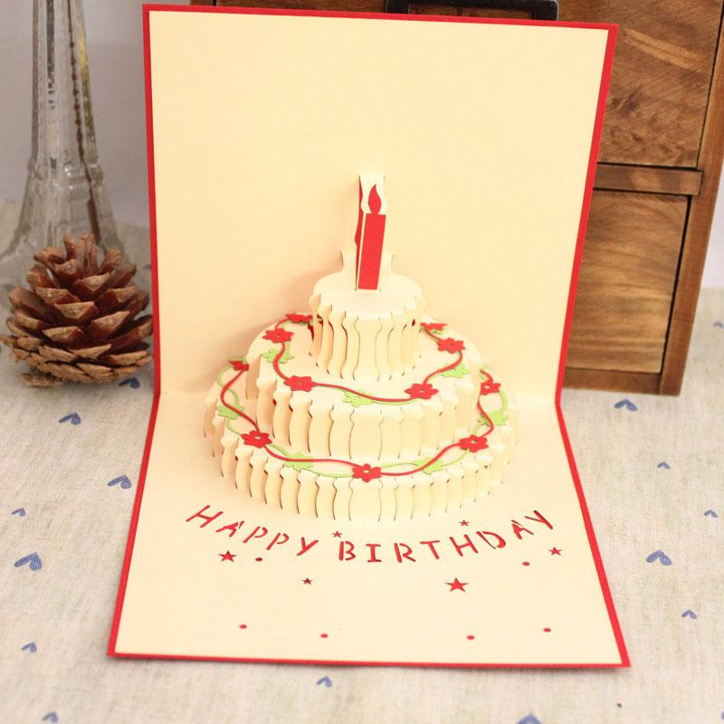 3d открытки ко дню рождения своими руками