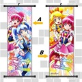 33X95CM Hacha HappinessCharge PreCure Pretty Cure Moe Anime Cartoon scroll wall picture mural poster art cloth