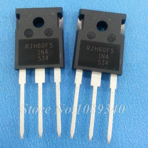 10PCS free shipping RJH60F5DPQ RJH60F5 N Channel IGBT High Speed Power Switching TO-247 80A600V 100% new original(China (Mainland))