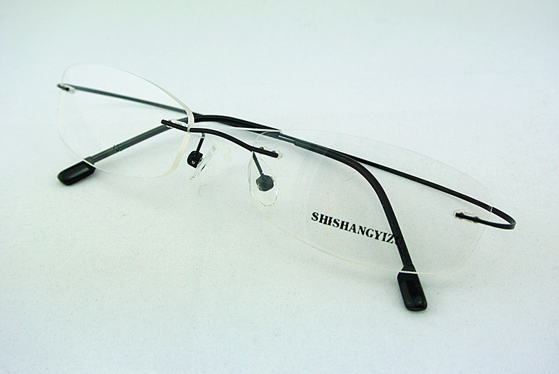 Best Lightweight Eyeglass Frames : mens rimless prescription glasses Neo Gifts