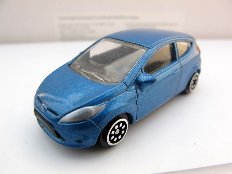 1:6 four alloy NOREV FORD automobile mannequin FORD FIESTA FORD fashions