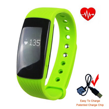 Smart Band Sport Original Bracelet ID107 for Android iOS with Fitness Wristband Smartband Bluetooth Waterproof Heart rate