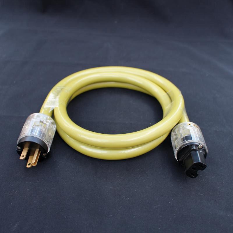 Van Den Hul M.C. THE Mainsstream DIY Hybrid ac power extension cord cable US MAIN PLUG P-029 HiFi(China (Mainland))