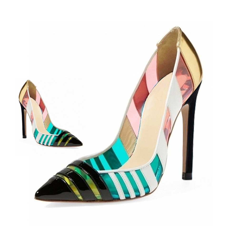 aliexpress popular multi colored heels in shoes