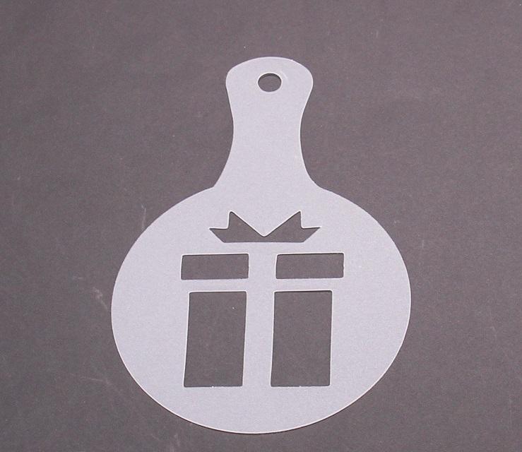 Christmas Cappuccino Coffee Barista Stencils Coffee accessories Tools 8pcs/set