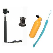 Buy CENINE Monopod Tripod Mount Adapter Tripe Float Bobber Grip Handle Monope Gopro Hero 3 4 Sj4000 Xiaomi Yi 4K Accessories for $6.79 in AliExpress store