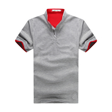 Новый 2016 Марка Твердые мужские рубашки поло Случайные Люди Летом с Коротким рукавом Camisa Поло Slim Fit Рубашки Размер M-3XL бесплатная доставка доставка(China (Mainland))
