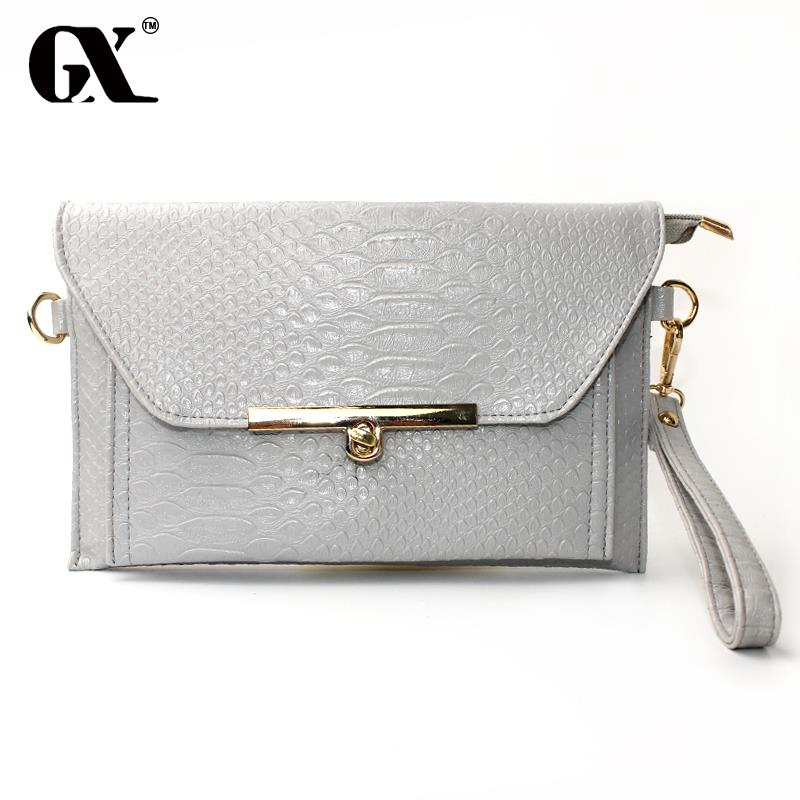 GX Hot Fashion Women Cutout Handbags European and American Style Hollow Out Shoulder Bags Day Clutches Lady(China (Mainland))