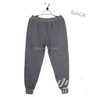 Продажа мужской jogger брюки беговые брюки пучка плюс размер Вэй штаны Мужчины тренировочные брюки брюки серые черные Зимние виды спорта