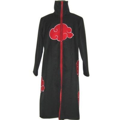 Naruto Akatsuki cloak Uchiha Itachi Cosplay Costume(China (Mainland))