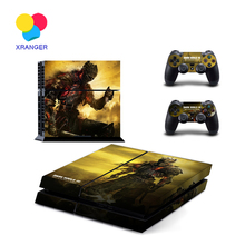 High quality DARK SOULS 3 Skin Stickers For PS4 Console 2 Pcs Vinyl Decal Skin Stickers For PS4 Controller Controle Gamepad(China (Mainland))